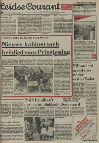 Leidse Courant 1981-09-05