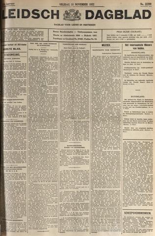 Leidsch Dagblad 1932-11-18