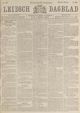 Leidsch Dagblad 1916-11-29