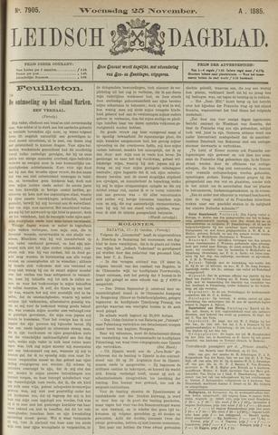 Leidsch Dagblad 1885-11-25