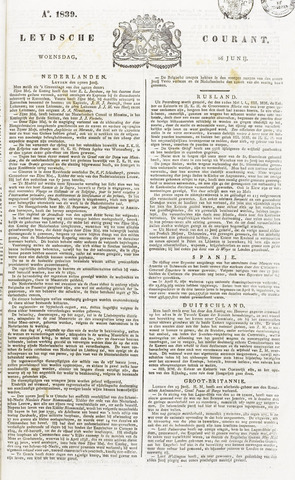 Leydse Courant 1839-06-26