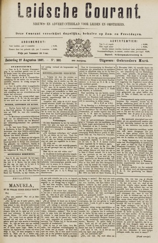 Leydse Courant 1887-08-27