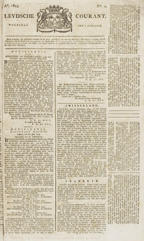 Leydse Courant 1825-01-05