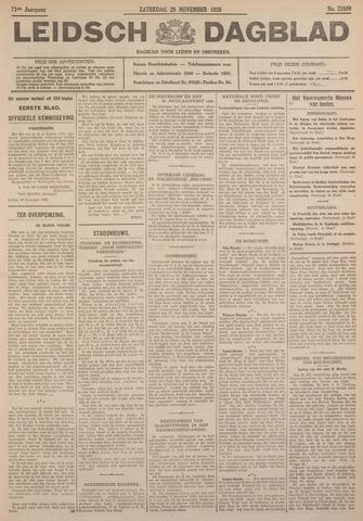 Leidsch Dagblad 1930-11-29