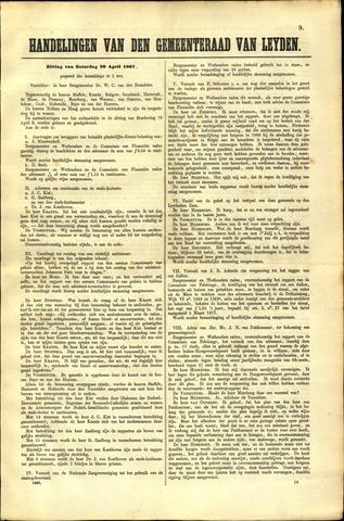 Handelingen van de Raad 1867-04-20