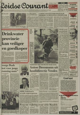 Leidse Courant 1988-08-17