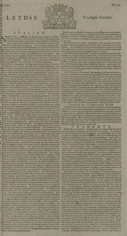 Leydse Courant 1725-11-23