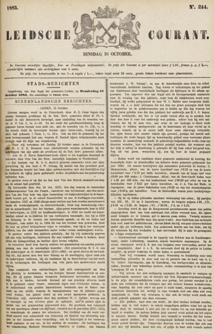 Leydse Courant 1883-10-16