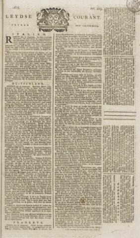 Leydse Courant 1815-09-01
