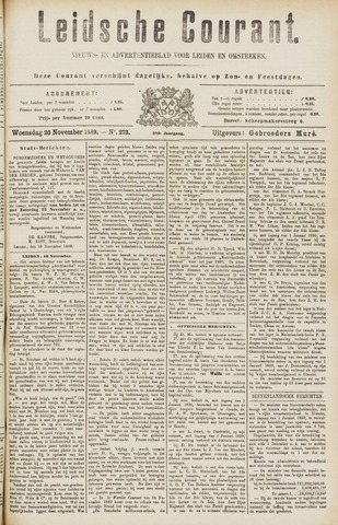 Leydse Courant 1889-11-20