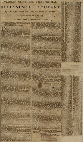 Leydse Courant 1795-05-04