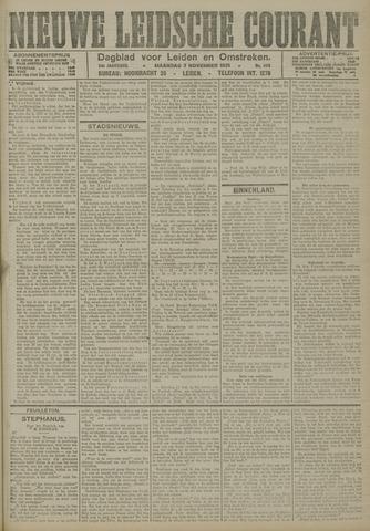 Nieuwe Leidsche Courant 1921-11-07