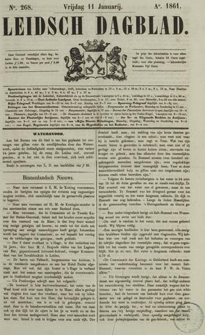Leidsch Dagblad 1861-01-11