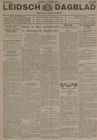 Leidsch Dagblad 1935-10-04