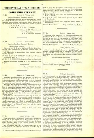 Handelingen van de Raad 1934-02-10