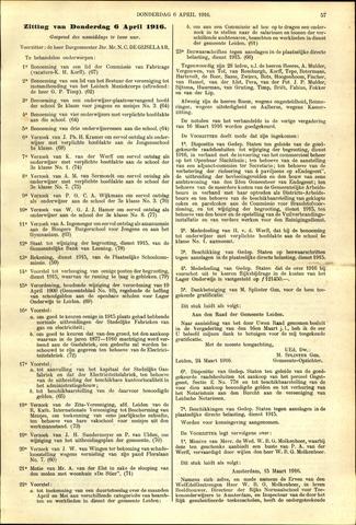 Handelingen van de Raad 1916-04-06