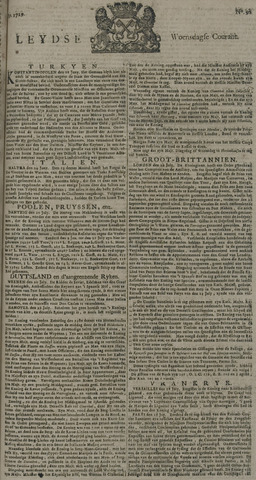 Leydse Courant 1729-08-03