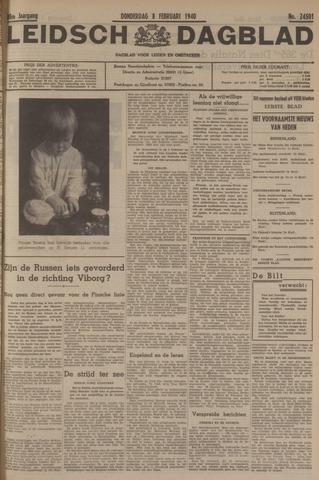 Leidsch Dagblad 1940-02-08