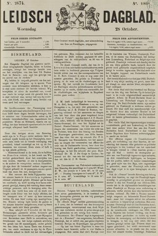 Leidsch Dagblad 1868-10-28