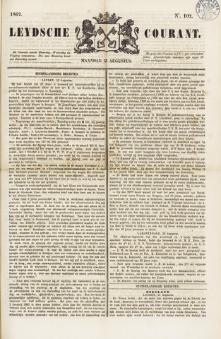 Leydse Courant 1862-08-25