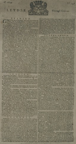 Leydse Courant 1734-12-31