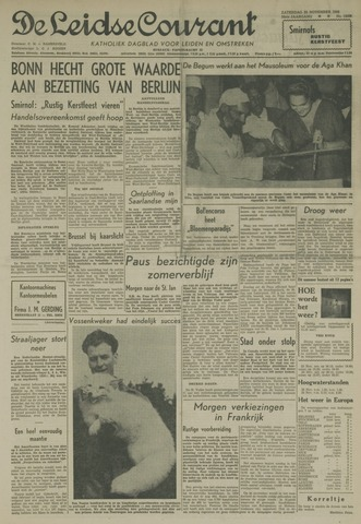 Leidse Courant 1958-11-22