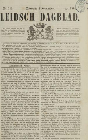 Leidsch Dagblad 1861-11-02