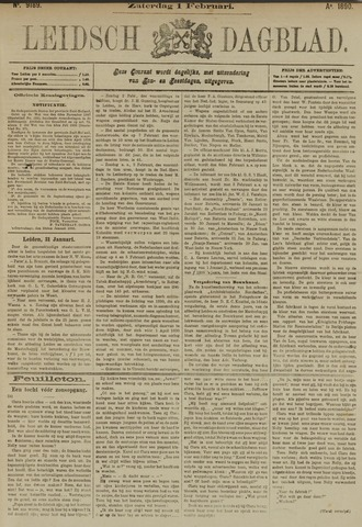Leidsch Dagblad 1890-02-01