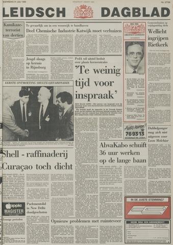 Leidsch Dagblad 1985-07-31