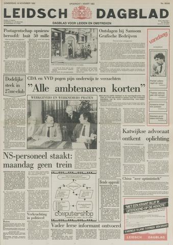 Leidsch Dagblad 1982-11-18