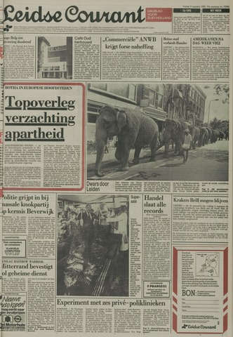 Leidse Courant 1985-08-09