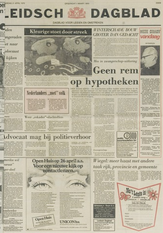 Leidsch Dagblad 1979-04-21
