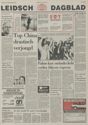 Leidsch Dagblad 1985-09-16