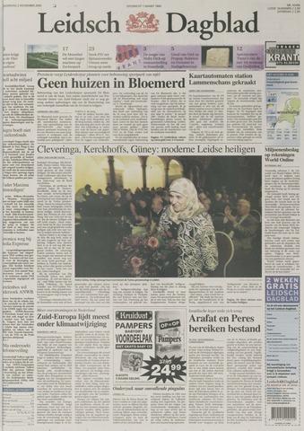Leidsch Dagblad 2000-11-02