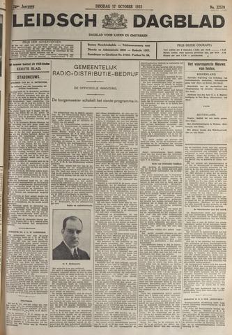 Leidsch Dagblad 1933-10-17