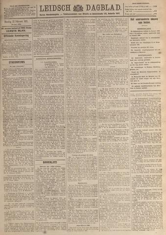 Leidsch Dagblad 1921-02-22