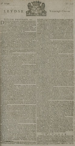 Leydse Courant 1734-09-29