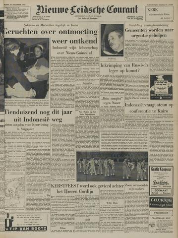 Nieuwe Leidsche Courant 1957-12-27