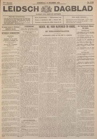 Leidsch Dagblad 1930-12-18