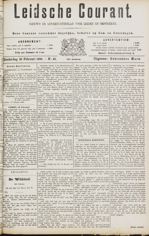 Leydse Courant 1890-02-20