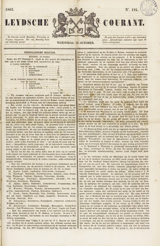Leydse Courant 1862-10-15