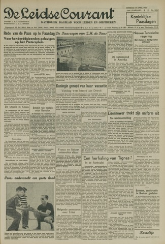 Leidse Courant 1952-04-15