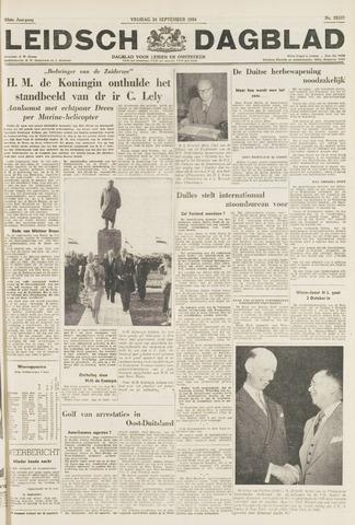 Leidsch Dagblad 1954-09-24