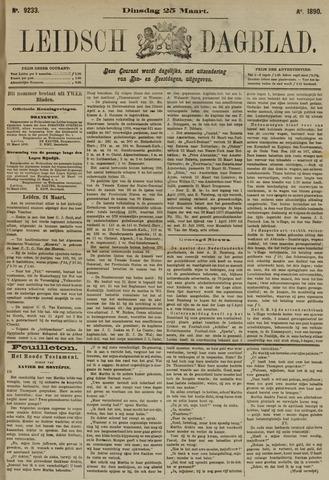 Leidsch Dagblad 1890-03-25