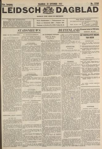 Leidsch Dagblad 1937-09-20
