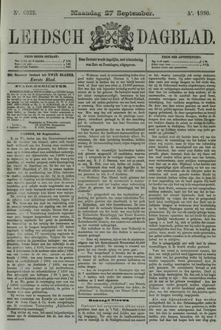 Leidsch Dagblad 1880-09-27