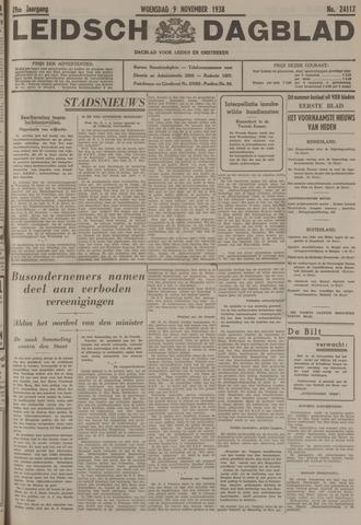 Leidsch Dagblad 1938-11-09