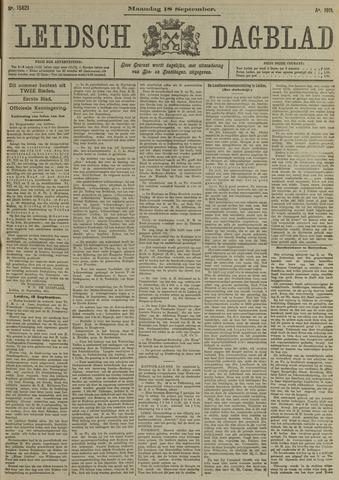 Leidsch Dagblad 1911-09-18