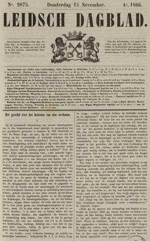 Leidsch Dagblad 1866-11-15