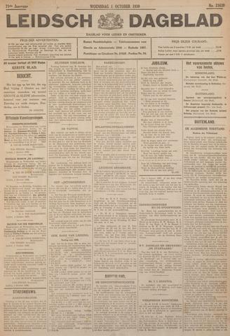 Leidsch Dagblad 1930-10-01